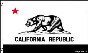 California  (Black & White)